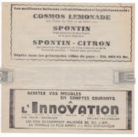 162/30 -Télégramme Publicitaire Vers Télégraphique OOSTENDE(C) 1932 - Eau Minérale Et Limonades SPONTIN - Innovation - Telegraph