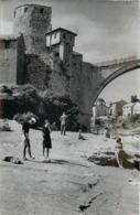 MOSTAR (Bosnie Herzegovine) - Vue Générale, Photo En 1954 Format 14cm X 9,2cm) - Lieux