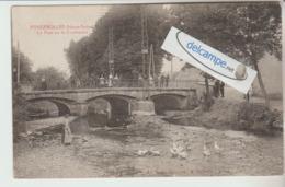 FOUGEROLLES : Le Pont Sur La Combeauté,Militaires,animée. édit Weick. - Non Classés