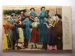 Carte Postale Les Chansons De Jean Rameau Illustrées - Le Branle (Petit Format Couleur Oblitérée 1957 ) - Musique