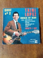 Trini Lopez Surf N°2 - Unchain My Heart - Reprise RVEP. 60037 - 1963 - Rock