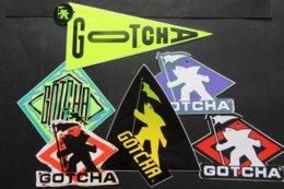 Autocollant  GOCHA - Aufkleber
