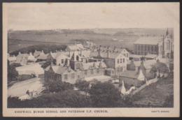CPA - (Royaume-Uni) Kirkwall Burgh School And Patterson U.F. Church - Orkney