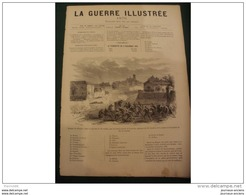LA GUERRE ILLUSTRE 1870 LE SIEGE DE PARIS - ATTAQUE DU BOURGET - VIE MILITAIRE AU CAMP - Journaux - Quotidiens