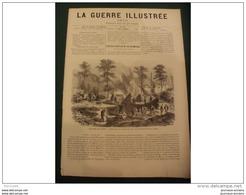 LA GUERRE ILLUSTRE 1870 LE SIEGE DE PARIS - CIRCULAIRE DE M DE BISMARK - FABRICATION DE CHARBON DE BOIS A PASSY - Journaux - Quotidiens