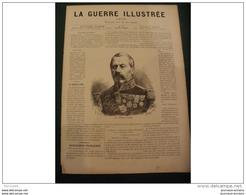 LA GUERRE ILLUSTRE 1870 LE SIEGE DE PARIS - FORT DE LA BRICHE SAINT DENIS - ROUTE DE MOUZON - SIEGE DE BONDY - Journaux - Quotidiens