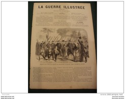 LA GUERRE ILLUSTRE 1870 SIEGE DE PARIS - AFFAIRE DE BAGNEUX - INCENDIE DU CHATEAU SAINT CLOUD - Journaux - Quotidiens