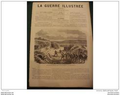 LA GUERRE ILLUSTRE 1870 SIEGE DE PARIS - FRANCS TIREURS AUX MOULINEAUX - EGLISE DE MOUZON - Journaux - Quotidiens