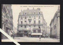 Nantes /  La Place De La Bourse, Rue De La Fosse Et Rue Thurot, Pharmacie Lefebvre - Nantes