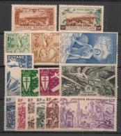 Guyane - 1942-46 - Poste Aérienne PA N°Yv. 20 à 34 - Complet - 15 Valeurs - Neuf Luxe ** / MNH / Postfrisch - Guyana Francese (1886-1949)