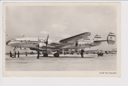Vintage Pc KLM K.L.M. Royal Dutch Airlines Lockheed Constellation L-749 @ Schiphol Airport - 1919-1938: Between Wars