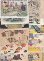 Humoristiques - Illustrateurs Signés - Lots Divers De 15 C.p.a. ( à Voir 15 Scans ) - Illustrateurs & Photographes