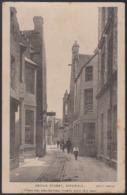 "CPA - (Royaume-Uni) Bridge Street, Kirkwall. ""Where Two Wheelbarrows Tremble When They Meet"" - Orkney"