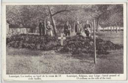 LOUVEIGNE Louveigné, Les Tombes Au Bord De La Route De 13 Civils Fusillés (Sprimont, Militaria, Guerre 14-18 (7 Août 14) - Sprimont