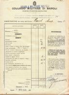 ** COLLEGIO MILITARE DI NAPOLI.-** - Documenti