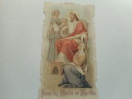 DEVOTIE-JEZUS BIJ MARIA EN MARTHA - Religione & Esoterismo