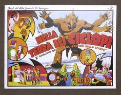 Fumetti - Suppl. Albo Lo Sparviero N. 2 - Nella Terra Dei Ciclopi - Ristampa - Boeken, Tijdschriften, Stripverhalen