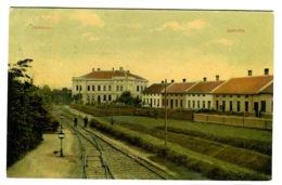 Jemnice Jamnitz RAILWAY Color Litho Sent 1910 - Tschechische Republik