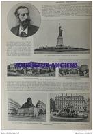 1904 AUGUSTE BARTHOLDI - LES REINES DE L'OPÉRETTS L'OEUVRE D'OFFENBACH - DEFENSE DE PORT ARTHUR - JUNGFRAU - Journaux - Quotidiens