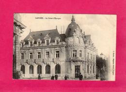52 Hte Marne, Langres, La Caisse D'Epargne, Animée, (C. Marlin) - Langres