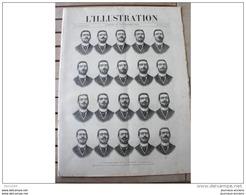 1891 PHOTOGRAPHIE DE LA PAROLE COMORES MINIATURES DE JEHAN FOUQUET CANONS A TIR RAPIDE EL-BIAR PALERME FBG SAINT ANTOINE - Journaux - Quotidiens