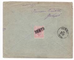 172/30 - Enveloppe TP Roumanie BRAILA 1903 Vers HAMME - Timbre Au Verso Annulé Par La Griffe Postale De HAMME - RARE - 1881-1918: Charles I