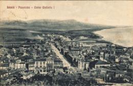 12447 - Licata - Panorama - Corso Umberto I (Agrigento) F - Agrigento
