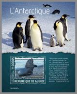 GUINEA REP. 2019 MNH Antarctic Animals Tiere Der Antarktis Animaux De L'Antarctique S/S - OFFICIAL ISSUE - DH1938 - Faune Antarctique