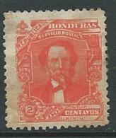 Honduras  Yvert N°58 (*) - Ad 39313 - Honduras