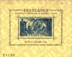 Ref. 97726 * MNH * - LUXEMBOURG. 1946. DUDELANGE NATIONAL PHILATELIC EXHIBITION . EXPOSICION FILATELICA NACIONAL EN DUDE - Neufs