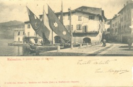 12968 - Malcesine - Il Porto (Lago Di Garda) - (Verona) F - Verona