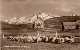 Kapelle Melchsee-Frutt Mit Titliskette (3091) - OW Obwalden