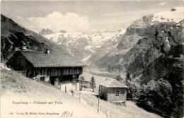 Engelberg - Flühmatt Mit Titlis (133) * 1906 - OW Obwalden