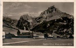 Engelberg - Kloster Mit Hahnen (4728) * 6. 7. 1929 - OW Obwalden