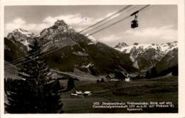 Drahtseilbahn Trübseebahn - Blick Auf Alte Gerschnialpwirtschaft (1521) * 19. 8. 1932 - OW Obwalden