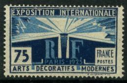 FRANCE   Exposition Internaionale Des Arts Décoratifs Paris 1925    N° Y&T  215  * - Neufs