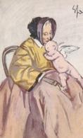 Cartolina - Postcard /  Non Viaggiata - Unsent /  Donnine, Edizione Arte Zenit. - Women