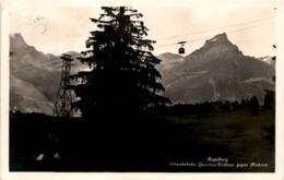 Engelberg - Schwebebahn Gerschni-Trübsee Gegen Hahnen (1430) * 5. 6. 1932 - OW Obwalden