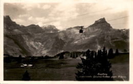 Engelberg - Schwebebahn Gerschni-Trübsee Gegen Hahnen (1431) * 6. 9. 1928 - OW Obwalden