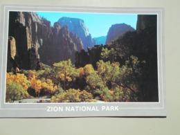 ETATS UNIS UT UTAH ZION TEMPLE OF SINAWAVA NATIONAL PARK - Zion