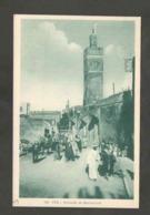 Maroc. Fès. Mosquée De Bou-Jeloud. Animation. - Monuments