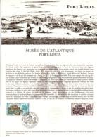DOCUMENT FDC 1976 MUSEE DE L'ATLANTIQUE DE PORT LOUIS - Documents De La Poste