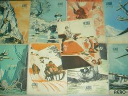LOT 10 N° Revue SCOUT  1947 à 1949 N°220-227-228-234-236-237-238-239-240-241 Illustré Pierre Joubert - Padvinderij