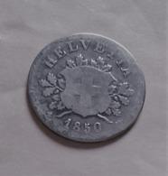 SUISSE 10 RAPPEN 1850 ARGENT   (B12 05) - Suiza