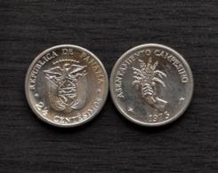 1973 Panama 2 1/2 Centésimos (F.A.O.) Km32 UNC COIN CURRENCY - Panama