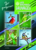 Central Africa 2019  Fauna Bee-eaters, Birds S201908 - Centrafricaine (République)