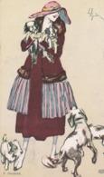 Cartolina - Postcard /  Viaggiata - Sent /  Donnine, Edizione Arte Zenit.- - Women