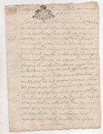 Bretagne Port Louis 1729 - Manuscripts