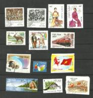 Vietnam  N°1772, 1773, 1856, 1857, 1896, 1899, 1992, 2096, 2133, 2157, 2166, 2170, 2179 Cote 3.40 Euros - Vietnam
