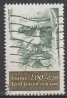 FRANCE : N° 1989 Oblitéré (Personnages Célèbres : Léon Tolstoï) - PRIX FIXE - - France